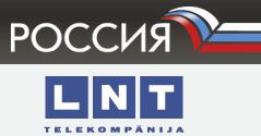 Rossiya and LTN TV-stations logos.