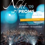 Night of the Proms 2009 - Belgium - brochure, cover.