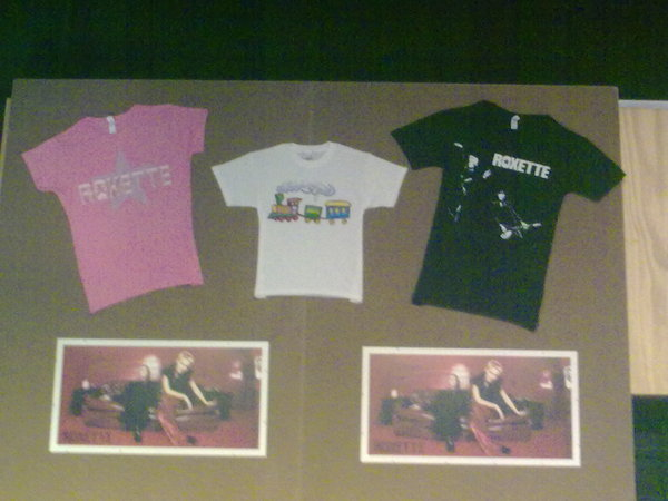 Roxette's merchandise
