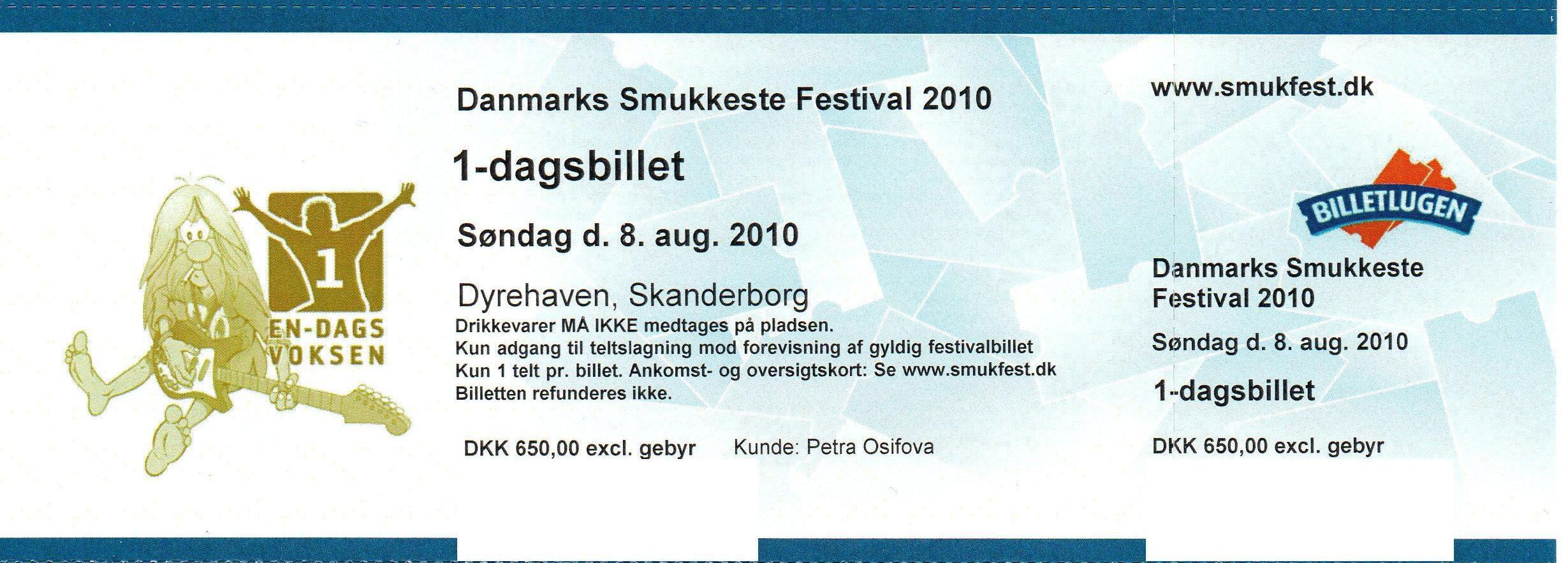 smukfest billetter sælges