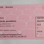 2011-03-14 Vilnius