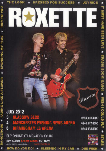 2012-07 UK gigs