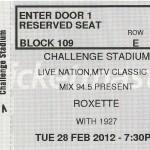 2012-02-28 Perth (new ticket)
