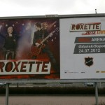 Roxette billboard in Zabrze