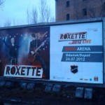 Roxette billboard in Gdansk