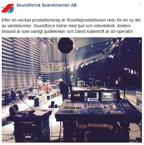 Photo by Soundforce Scandinavian AB
